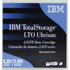 IBM DATA CARTRIDGE LTO-6 ULTRIUM 2.5/6.25TB IBM-0V7590 IPT