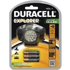 Duracell Linterna Cintillo 19 Led Duracell + 3 AAA HDL-1 Ecoffice