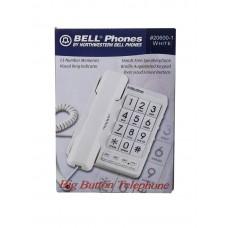 BELL TELEFONO NUMEROS GRANDES TECLADO TIPO BRAILLE CON ALTAVOZ 20600