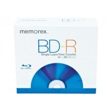 MEMOREX BD-R BLU RAY 25GB 4X CAJA SLIM UNIDAD 97850