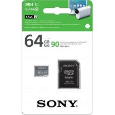 SONY MICRO SDHC 64GB 4K CLASS-10 C/ADAP SD 90MB/S SR-64UY3A