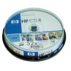 HP CD-R 700MB CAKE 10 UNIDADES
