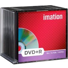 IMATION DVD+R 4.7GB CAJA SLIM PACK 10 UNIDADES