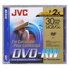 JVC DVD-RW MINI 1.4GB 30 MIN RAGRABABLE CAJA SLIM VD-W14N