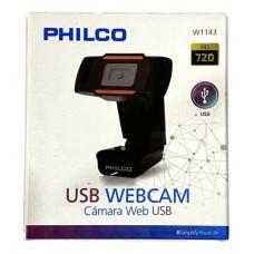 PHILCO CAMARA WEB 720 HD 30FPS USB C/MICROFONO W1143