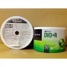 SONY DVD+R 4.7GB 120MIN 16X BULK 50 UNIDADES 50DPR47SB