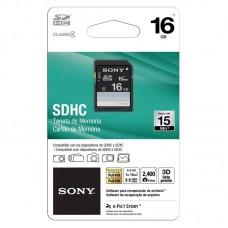 SONY MEMORIA SDHC 16GB 15MB/S FULL/HD SF-16N4 CLASS-4 ECOFFICE