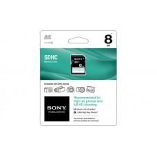 SONY MEMORIA SDHC 8GB 15MB/S FULL/HD SF-8N4 CLASS-4 ECOFFICE