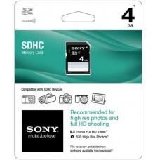SONY TARJETA DE MEMORIA SDHC 4GB CLASS 4 SF-4N4