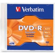 VERBATIM IPT DVD-R 4.7GB 16X CAJA SLIM 95093