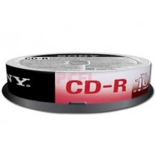 SONY CD-R 700MB CAKE 10 UNIDADES